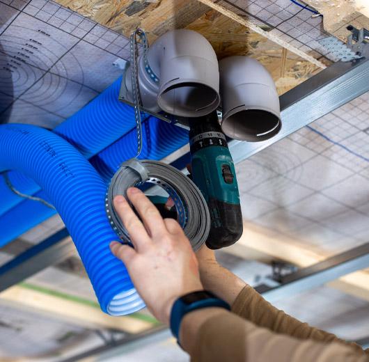 Installation et entretien de VMC double flux à Lille